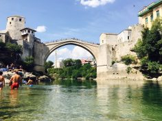 Die Brücke Stari Most in Mostar
