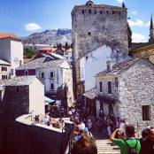 Die Altstadt von Mostar
