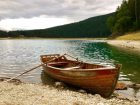 Ein Bootsverleih macht's möglich: Rudern auf dem Black Lake