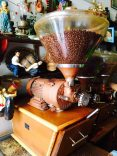 Im Kaffeeshop in Berat