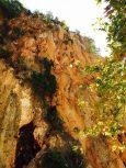 Klettersektor im Canyon