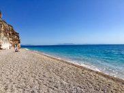 Traumhaft: der Gjipe-Strand in Albanien!