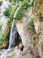 Der Grunas-Wasserfall