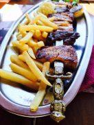 Herzhaftes Essen im Restaurant