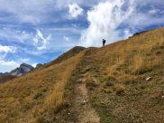 Wanderpfad zum Gipfel