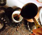 Kaffee im mazedonischen Restaurant