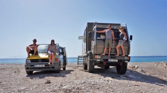 Meet friends in Albania