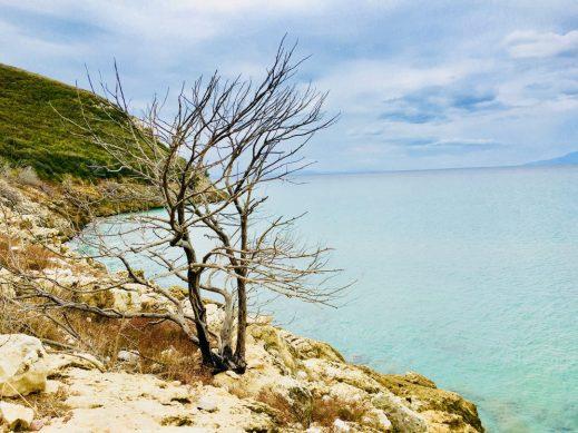 Umgebung des Paralia Gianiskare