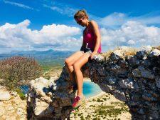 Blick vom Navarino Castle auf die Ochsenbauchbucht