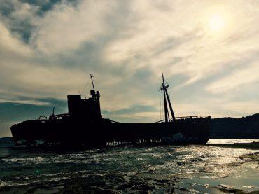 Dimitrios-Schiffswrack bei Gythio