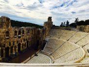 Theater des Herodes auf der Akropolis