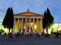 Abendsport in Athen