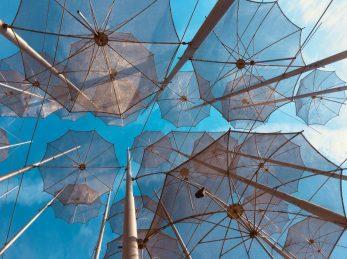 Die Regenschirme von Thessaloniki