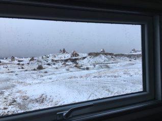 Kappadokien und Schnee