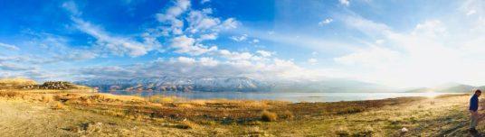 Lake Hazar bei Sivrice