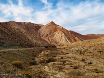 Irgendwo in den malerischen Bergen Irans