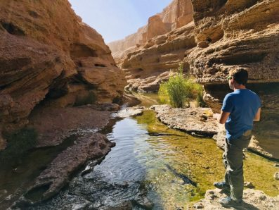 Wasser im Jenni-Canyon