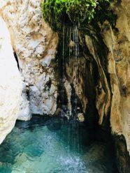 Einer der Gumpen im Sardar Canyon