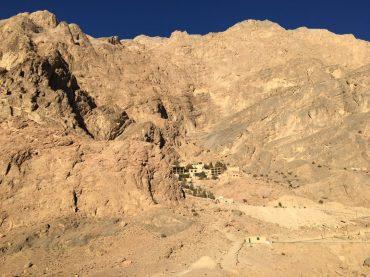 Pilgerstätte Chak-Chak von weitem
