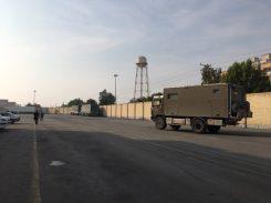 Alex auf dem Weg zur Freihafenzone in Bandar Abbas