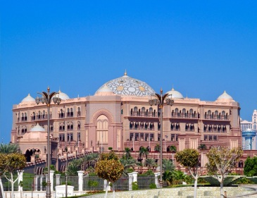 Das Emirates Palace - Das luxuriöse 5*Hotel