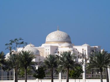 Der neue Präsidentenpalast in Abu Dhabi