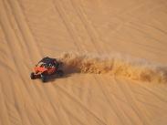 Fahrer auf der Moreeb Dune