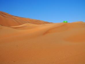 Entspannen in der Run Al Khali