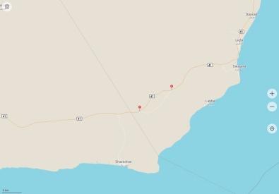 Felsformationen Oman