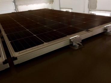 Die neue Befestigung der Photovoltaikmodule