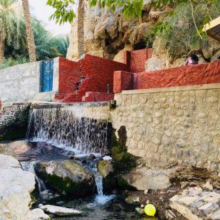 An der Nakhal Hot Spring bei Saybah