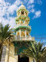 Eine der hübschen Moscheen im Oman, hier in Maskat