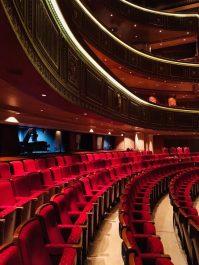 Der Saal in der Royal Opera