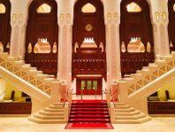 Eingangsbereich der Royal Opera, Maskat