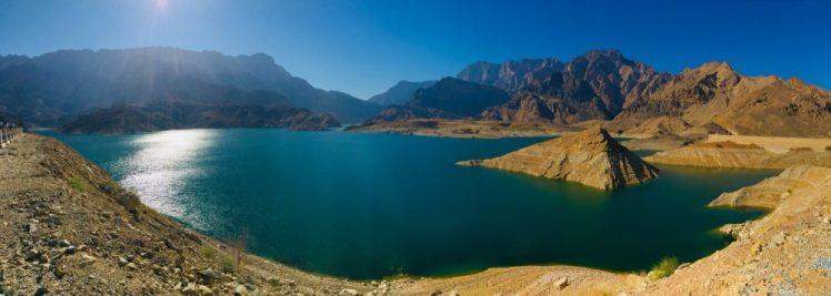 Staudamm des Wadi Dayqah