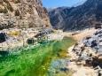 Stellplatz im Wadi Suwayh