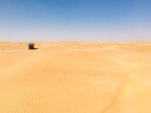 Durch die Wahiba-Wüste