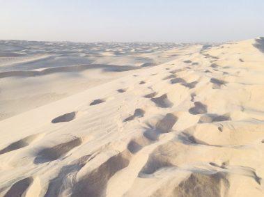 Herrlicher feinster weißer Sand
