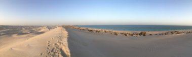 Die White Dunes oder Sugar Dunes im Oman