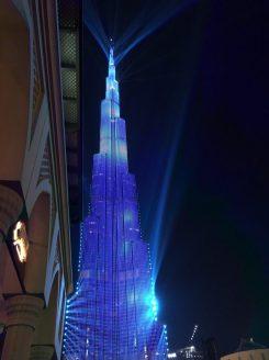 Lasershow Burj Khalifa