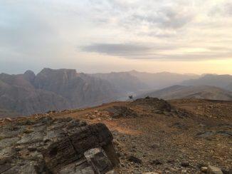 Hajar-Gebirge auf Musandam