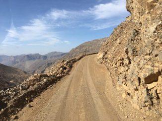Piste im Hajar-Gebirge auf Musandam