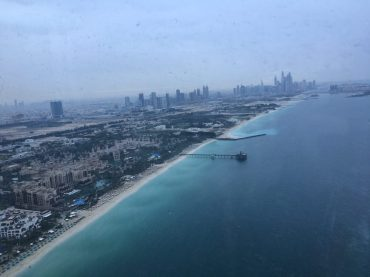 Blick vom Burj al Arab Richtung Palm Jumeirah