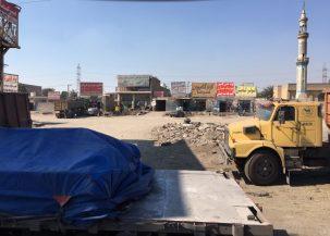 Typisches Straßenbild im Iran