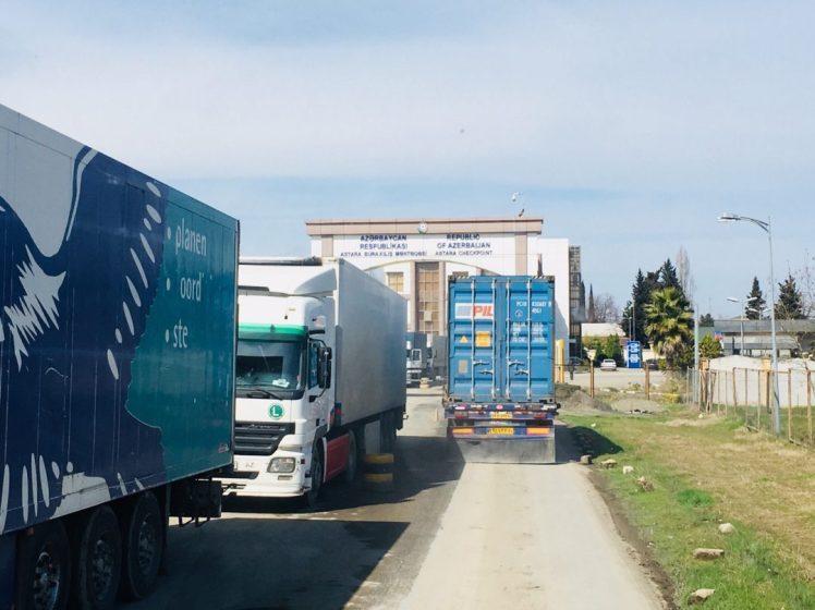 Grenze Iran - Aserbaidschan