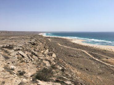 Am Kaspischen Meer in Kasachstan: traumhaft!