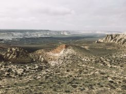 Am weißen Canyon, Kasachstan