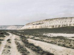 Im weißen Canyon, Kasachstan