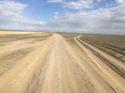 Piste zur Usbekischen Grenze