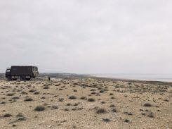 Am Aralsee in Usbekistan